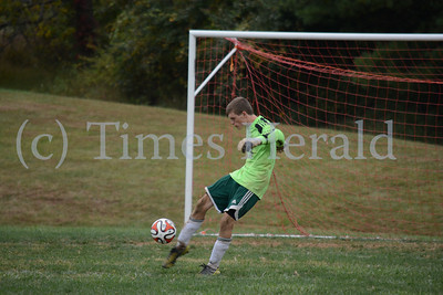 Methacton's boys soccer team host Boyertown