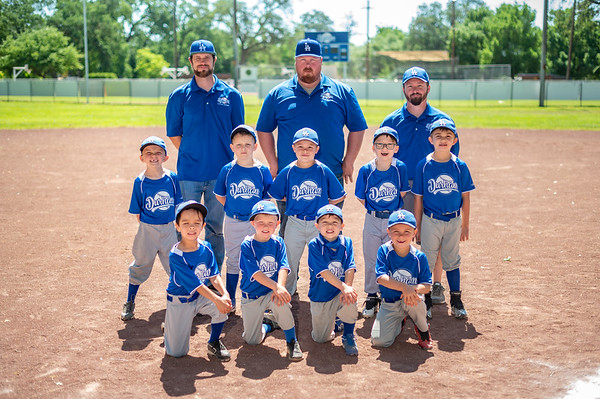 DLL Dodgers Team Photo