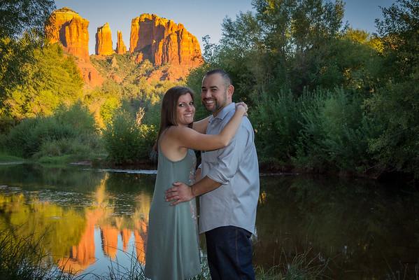 Cara & Daniel's Sedona Engagement