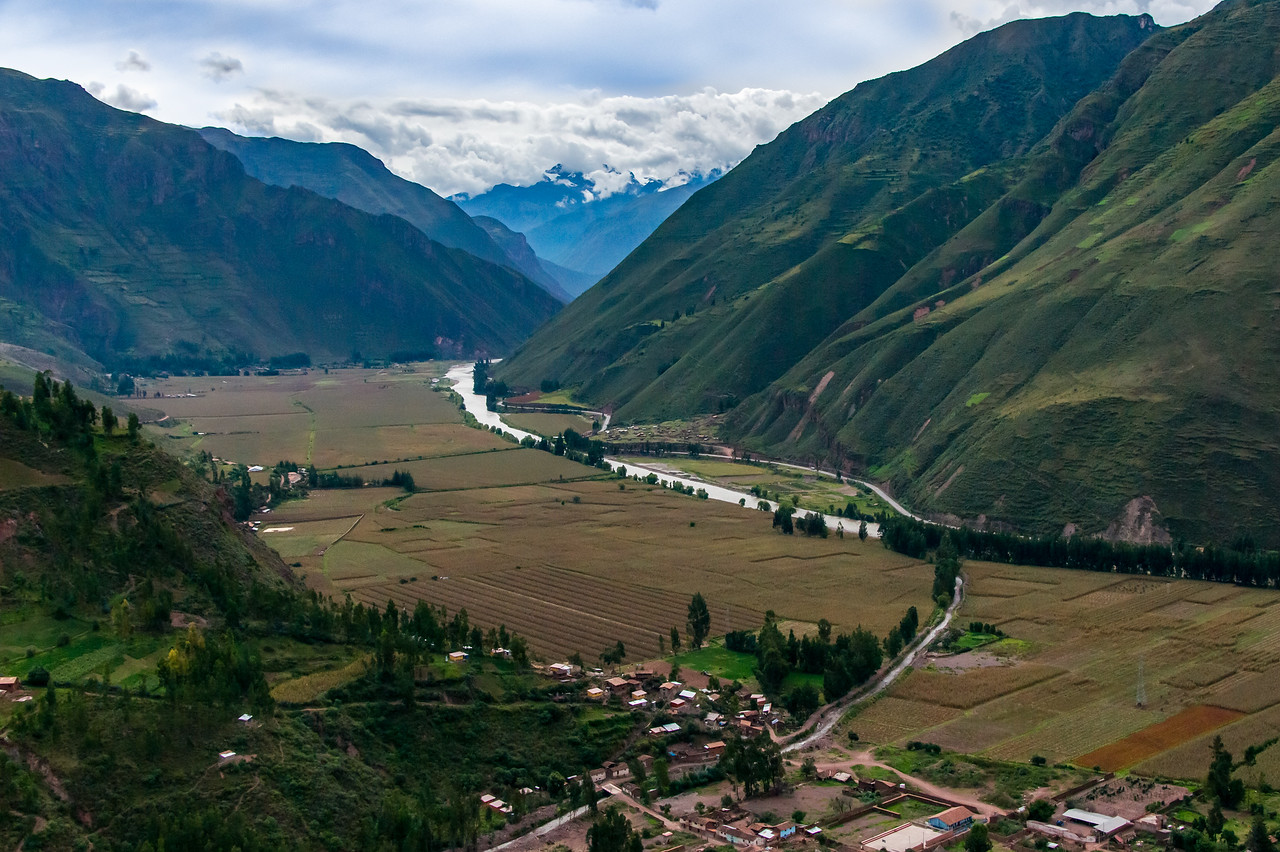 The Sacred Valley of the Incas.