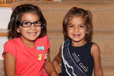 Sophia & KK Back to School
