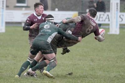 Rugby - Hawick vs Gala