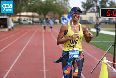 Jacksonville Half and Full Marathon 18B Finish
