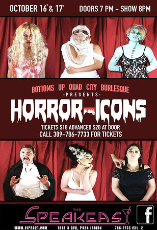 Horror Icons (10-16-15)