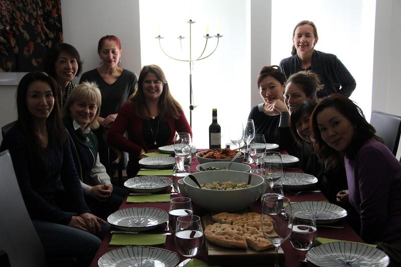 Mediterranean Cooking Class February 24, 2012