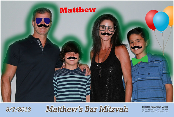 2013-09-07 Matthew's Bar Mitzvah