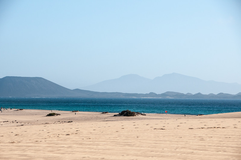 Corralejo Beach in Fuerteventura, Canary Islands, Spain