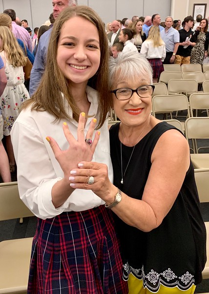 SJA Ring Ceremony.