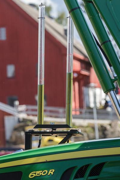 Drivstofforbruk ved høyt og lavt dekktrykk