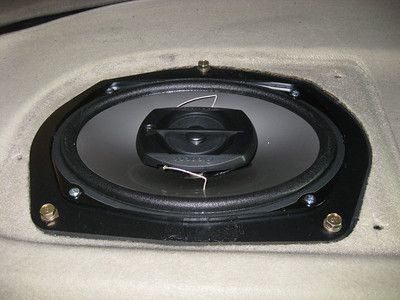 1995 Honda Accord LX Rear Deck Speaker Installation - USA
