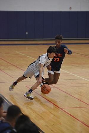 OE Fresh. Boys Basketball Vs Romeoville 2020