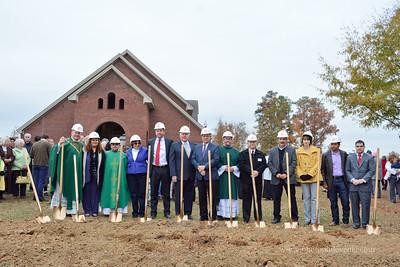 Parish Center Groundbreaking 11-16-14