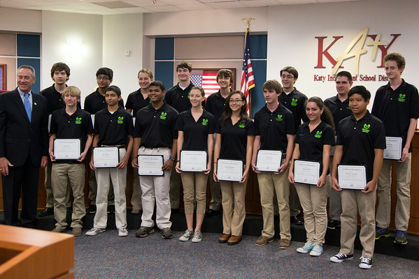 KISD Recognitions 8-26-14