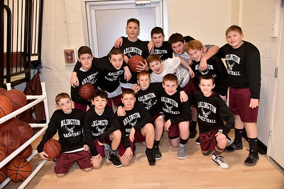 Meet The AMHS M.S. Boys Basketball Team photos by Gary Baker