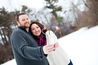 Melissa & Mike {engagement session}