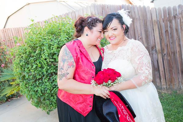 Bobbi and Melinda Samano Wedding