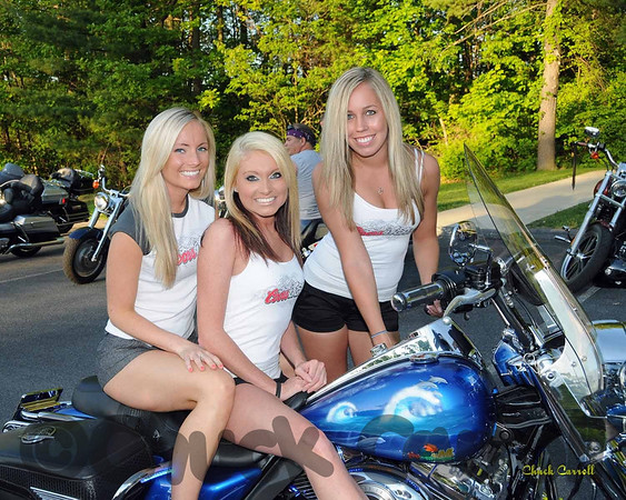American Legion Post 245  --  Bike Night  --  4/21/09  --  With the Coors Light Girls