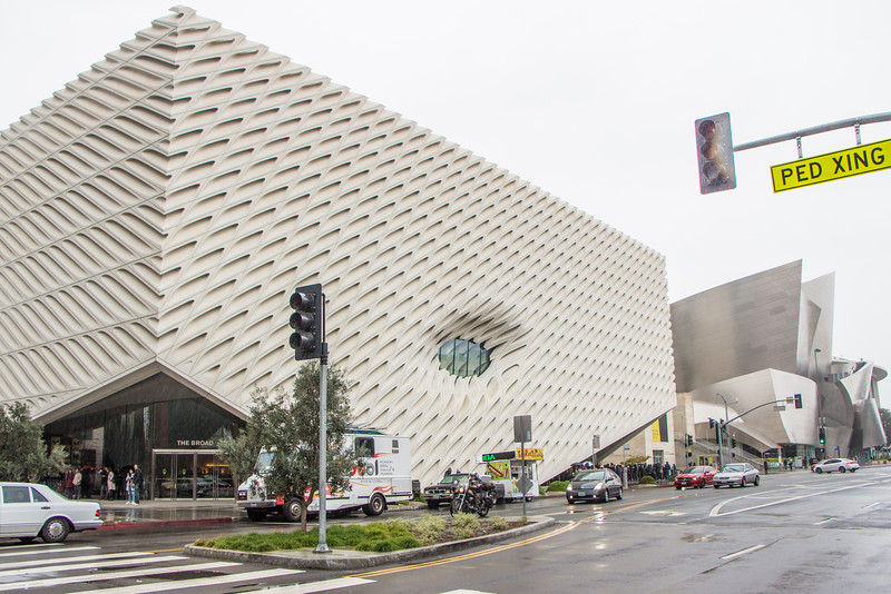 The Broad and Walt Disney Concert Hall