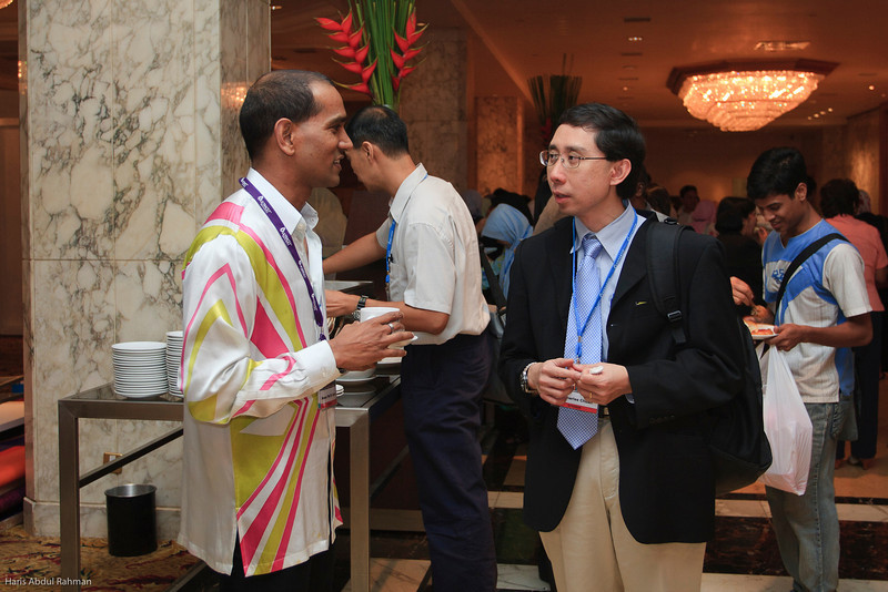 Prof Veera and Dr Charles Chuah