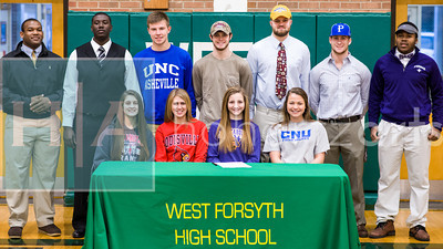 West Forsyth Signing Day