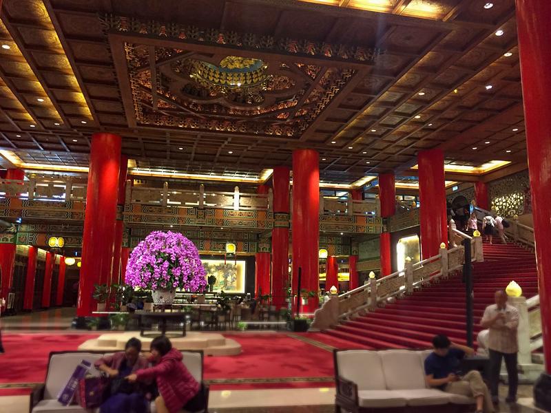Grand Hotel Taipei Lobby