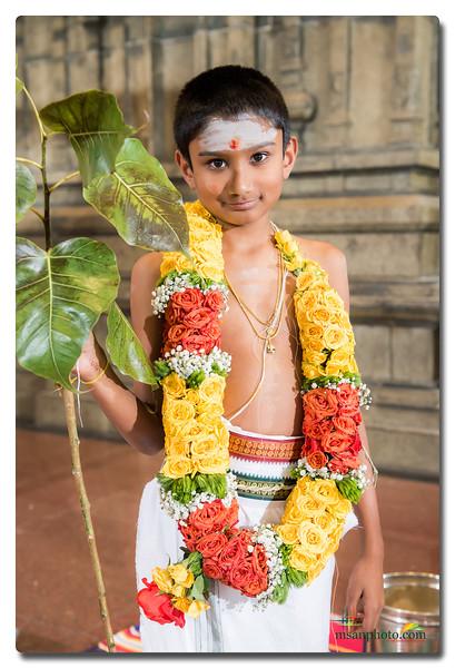 Shreyas Threading Ceremony 2019