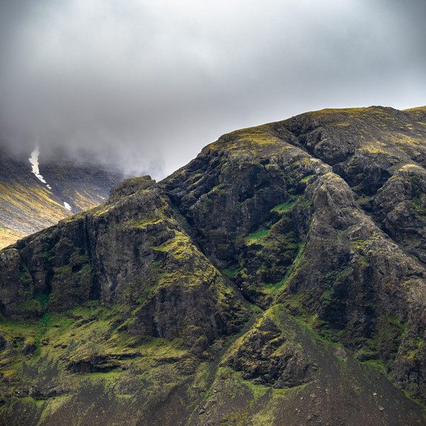 Mountain Top in Iceland   Photography by Wayne Heim