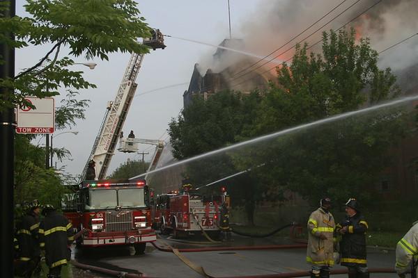 4-11 Alarm 120th & Peoria   August 9, 2004