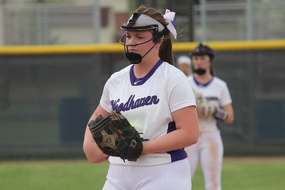 HS Sports - Allen Park at Woodhaven Softball
