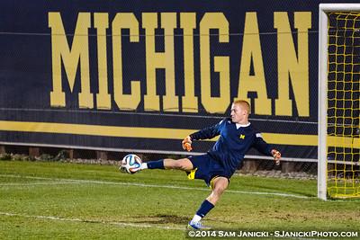 Best of UM Men's Soccer Vs Ohio State 11-5-14