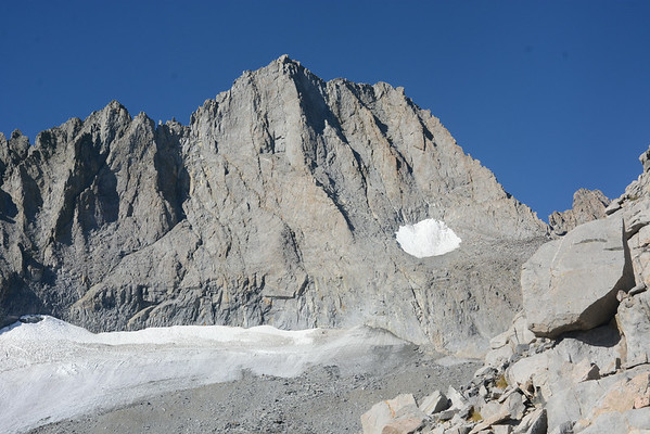 Norman Clyde Peak Twilight Pillar August 27, 2014