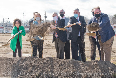 Bay Library Groundbreaking 2021