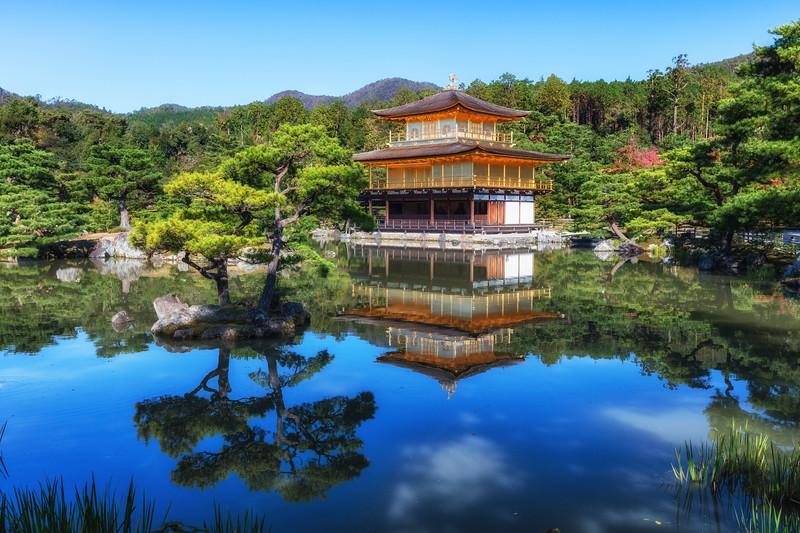 """Kinkaku-Ji """"Golden Palace"""""""