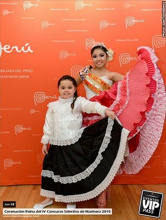 Reina del IV Concurso Selectivo de Marinera 2015 | Thu, Jan 08