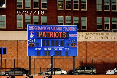 ME (2) Binghamton (0) Boys Varsity Soccer 9/27/16