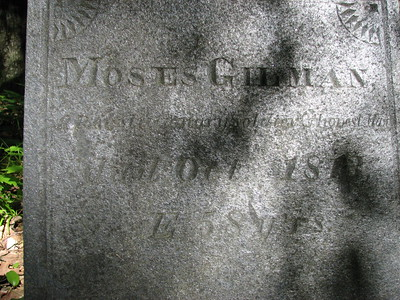 Moses Gilman Grave