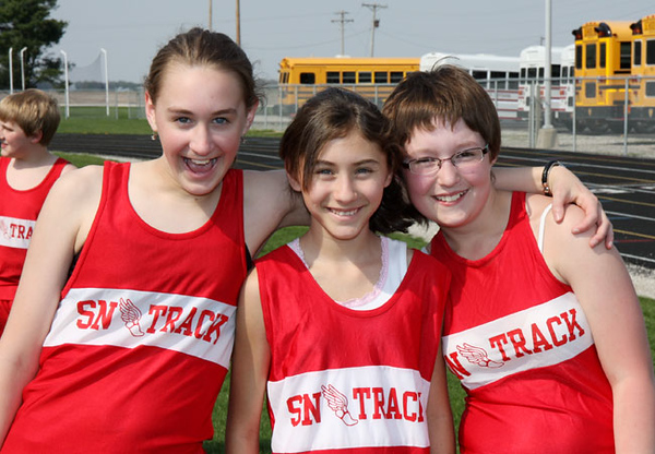 SNMS Track Team 2010