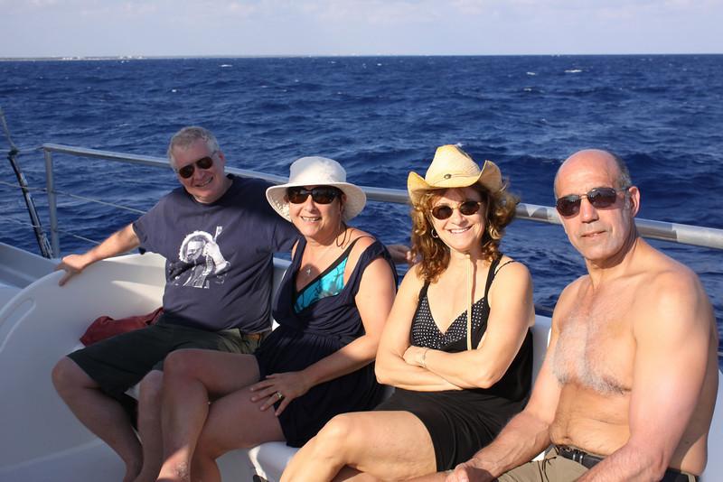 Dan, Baba, Marlene and Chuck