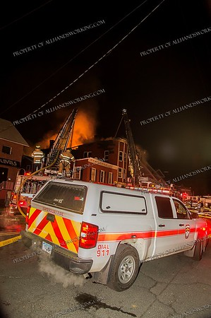 2 Alarm Structure Fire - 693 East Main St, Waterbury, CT - 2/21/20