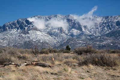 Sandia Mountains • snow