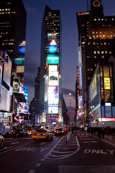 NYC - Times Square Jan 2010