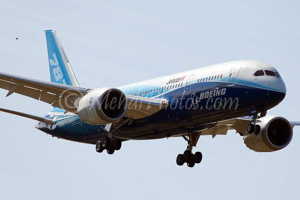 Boeing Dreamliner First Visit to Melbourne