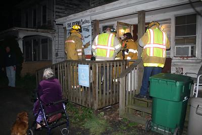 House Fire Response, West Penn Pike, Snyders, West Penn (4-25-2012)