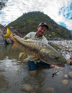 India - Golden Mahseer Fishing
