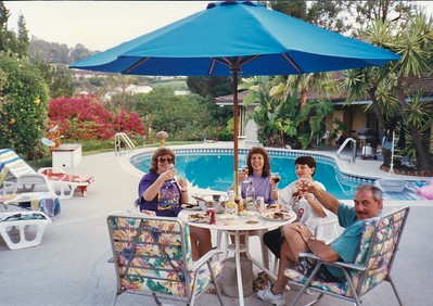 Liz & Roy + Family 1st visit to Meadowdale 1996