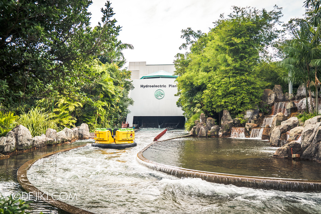 Universal Studios Singapore Park Update - Jurassic World Explore and Roar at Jurassic Park zone - Jurassic Park Rapids Adventure post refurbishment