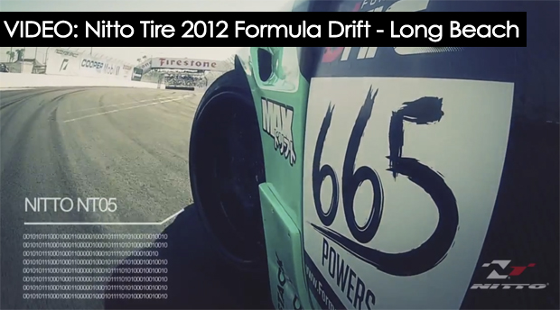 Nitto Tire, Long Beach Formula Drift video