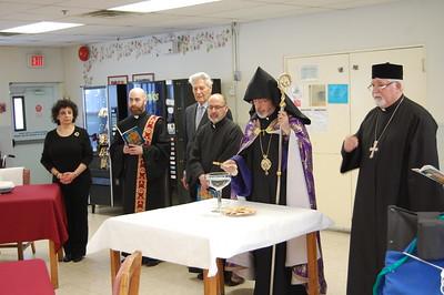 Archbishop Barsamian Visits Armenian Old Age Homes in NY and NJ, January 2017