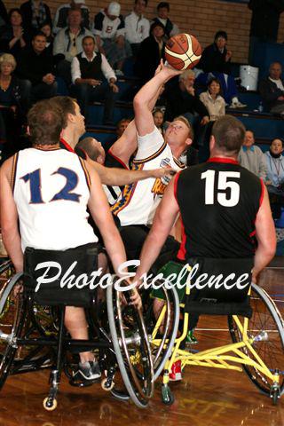 NWBL Grand Final - West Sydney  Razorbacks Vs Perth Wheelcats - September 10, 2006.