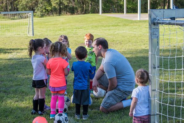 Soccer Practice Spring 2015
